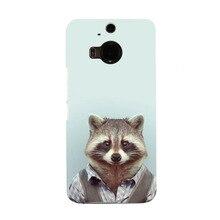 Fashion Man Shape Animal Funny New Arrival UV Black Bag Case For HTC M9