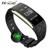 Hiwego S2 Sport Smart Band Wrist Bracelet Wristband Heart Rate Monitor IP67 Waterproof Bluetooth Smartband For