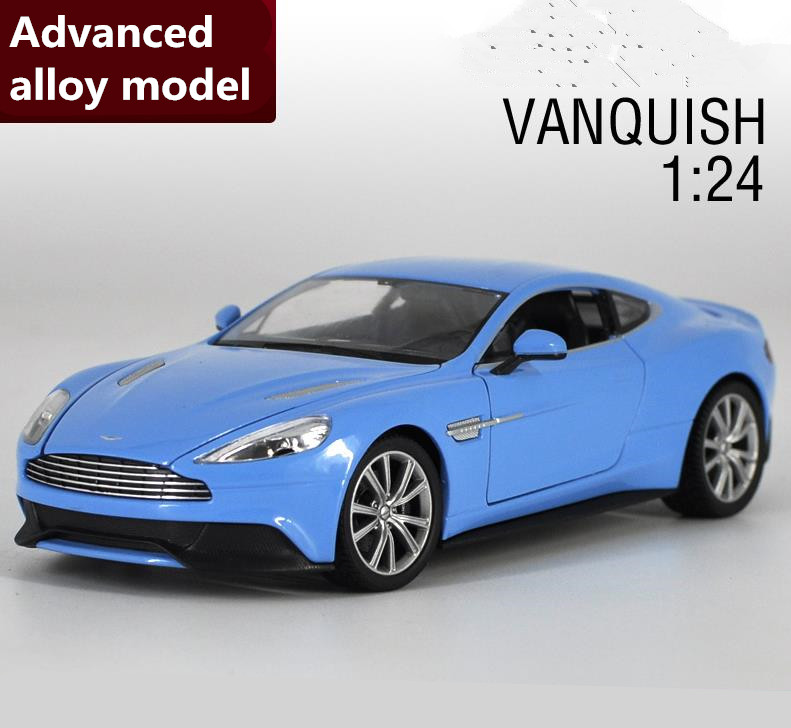 1:24 Aston Martin advanced alloy car toy,diecast metal model,2 open doors toy vehicle,Precious collection model free shipping