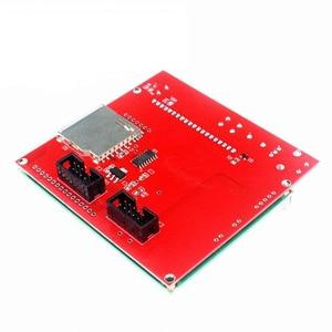 Image 3 - LCD 12864 تحكم طابعة ثلاثية الأبعاد ramps 1.4 تحكم LCD12864 شاشة عرض اللوحة الأم الأزرق وحدة التحكم الذكي ramps