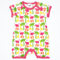 100% Cotton Newborn 62-92 Height Summer Baby Boys Girls Bodysuit Clothes Kids Short Sleeve Coveralls Children Tees Clothing