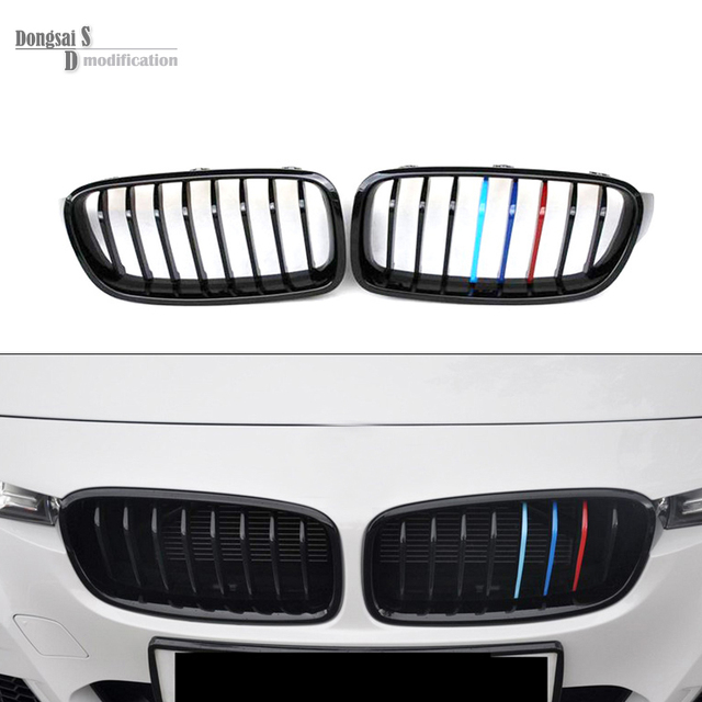 M3 Tri Color F31 Front Abs Hood Grill For Bmw 3 Series 2012 2016 F30