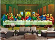 Delightful Custom Photo 3d Room Wallpaper Non Woven Mural The Last Supper Decoration  Painting 3d Wall Murals Wallpaper For Walls 3d Part 25