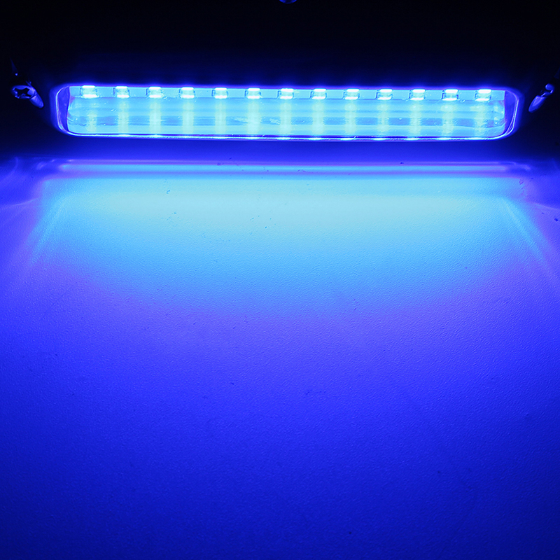 Image 4 - 39 LED 5.2 W Underwater Pontoon Boat Transom Light 12V White Blue Marine Boat Yacht Light 316SS Cover Waterproof-in Marine Hardware from Automobiles & Motorcycles