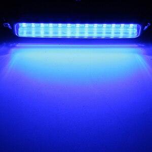 Image 4 - Luz de cruce de barco pontón sumergible de 39 LED de 5,2 W, 12 V, cubierta impermeable azul blanca para yate o barco marino 316SS