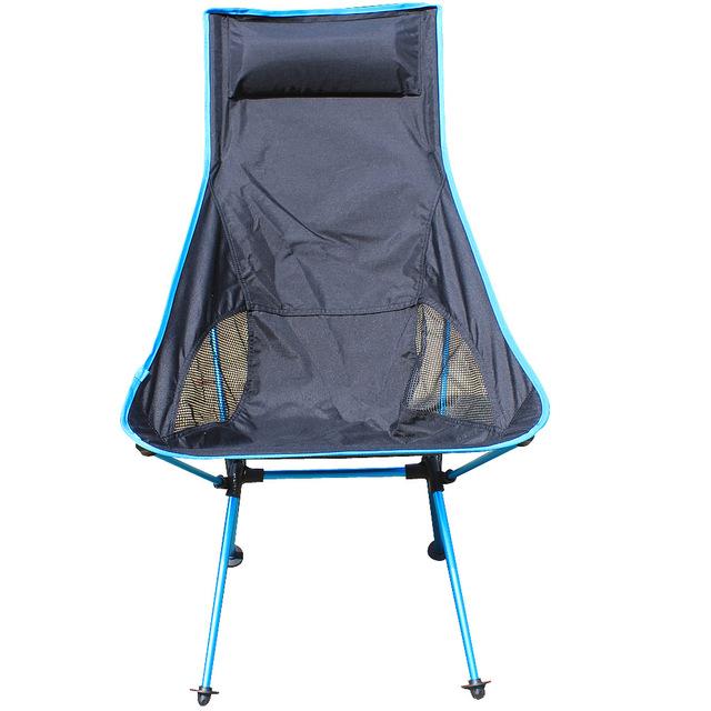 Camping Cadeira Dobrável Fezes cadeira de pesca Portátil Assento Para Churrasco Piquenique Embalado Grande Carga Tendo Peso Leve