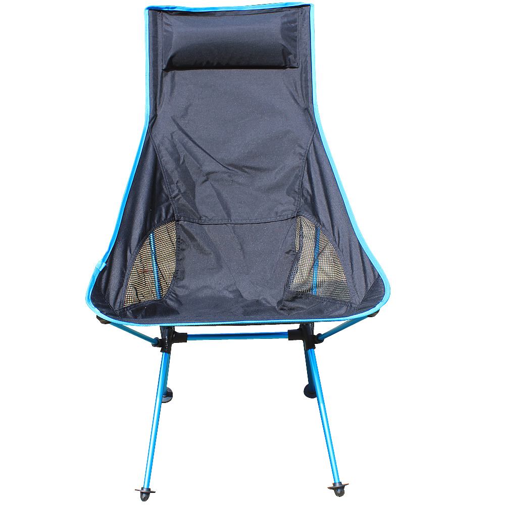 Fishing chair Portable Camping Stool Folding Chair Packed Seat For Picnic Barbecue Big Load Bearing Light Weight beach chairs portable folding camping stool chair max load bearing 145 kg silla plegable can adjust the height