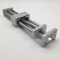 Раздвижной Рабочий стол 300 мм ход CNC линейный модуль крест электромотор для 3D принтера XYZ Axis SFU1605 ШВП C7 для NEMA23 Степпер с сервоприводом