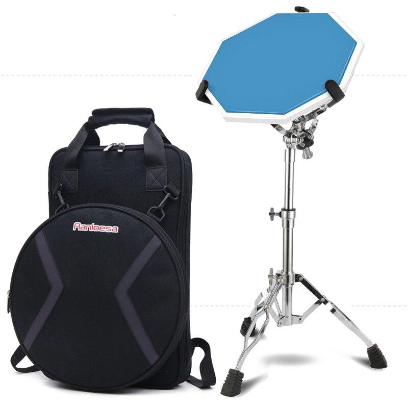 Support de sac d'entraînement de pratique de tambour muet moonambassade pour étui à Percussion