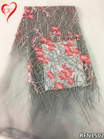 KK Tulle Lace Fabric High Quality African French Lace Fabric 2017 Net Nigerian Lace Fabrics For