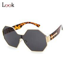 Fashion Hexagon Sunglasses Women Men New Brand Designer Classic Retro Mirror Sun Glasses For Female Colorful Oculos Male UV400
