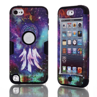 Colorful Dreamcatcher Phone Cases For Apple IPod Touch 5 Case Cover Soft TPU PC Shockproof Impact
