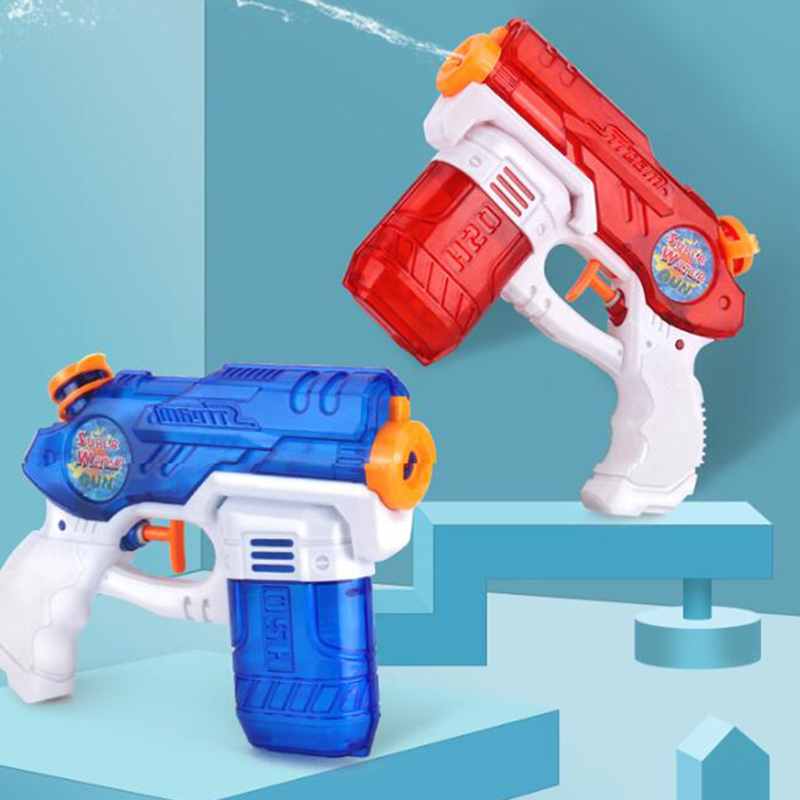 Baby Toys Beach Water Gun Toy Swimming Pool Party Plastic Outdoor Game Tool Pistol Press Kids Water Guns Water Toys Balloons