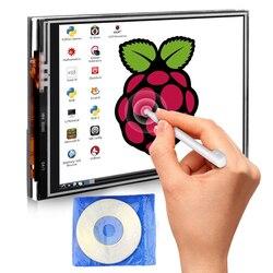 Для Raspberry Pi 3 Модель B 3,5 дюйм(ов) Сенсорный экран Дисплей монитор 480x320 ЖК-дисплей комплект