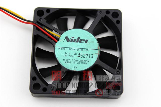 D05X-24TM 065010 24 V 0.07A 5 CM ventilador de refrigeración