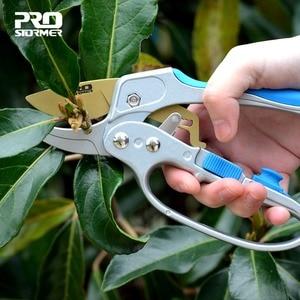 PROSTORMER Garden Scissor Cutter Pruning grafting tool fruit Garden Scissors Cutter Pruner Tools Farming Coating Graft Pruner
