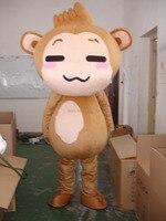 חמה למכירה 2016 משלוח מהיר היפ הופ קוף קמע תלבושות תחפושת בעלי החיים הסיטוניים משלוח חינם