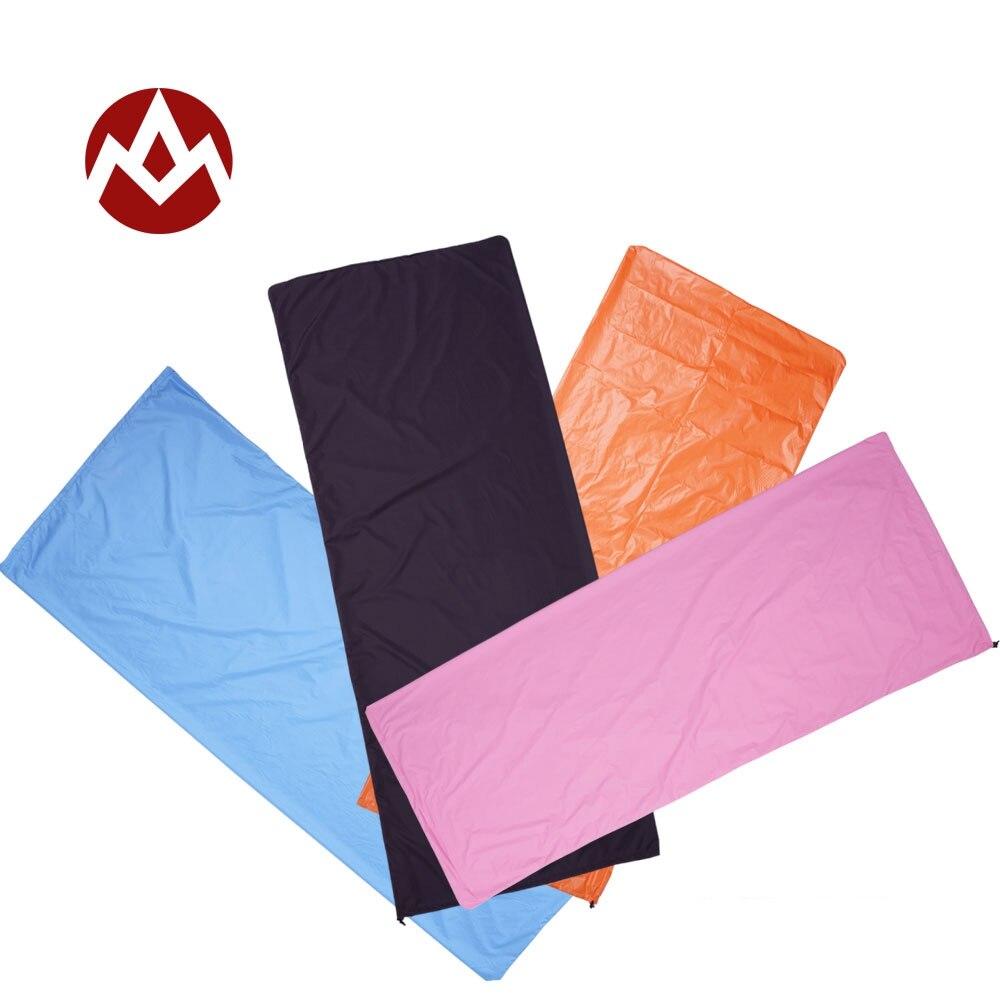 Aegismax Ultraleicht Umschlag Schlafsack Erwachsene Polyester Pongee Camping Tragbare Einzel Sommer Schlafsäcke Reise Liner