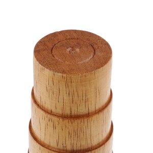 Image 4 - Étape en bois Bracelet mandrin Sizer ajuster jauge mesure Bracelet taille fil emballage outil bijoux faisant des outils