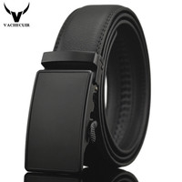 Business Belts For Men Ceinture Luxury Genuine Leather Belt Buckle Wide Belt Fashion Jeans Men Brand