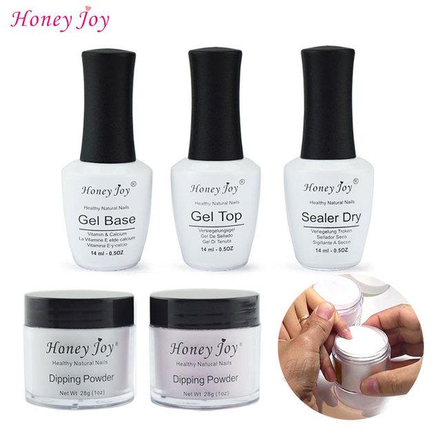 28g/Box French White Dipping Powder No Lamp Cure Nails Dip Powder ...