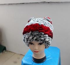 Оптовая Бесплатная Доставка Моды Кожаные Шляпы Кролика Кожи Детей взрослых толще зимой тепло натурального меха зима женщины hat