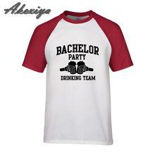 cd7c9c0e3 Festa de despedida de solteiro Potável Equipe homens Totó tshirt Palavras  camisa de compressão camisetas hombre