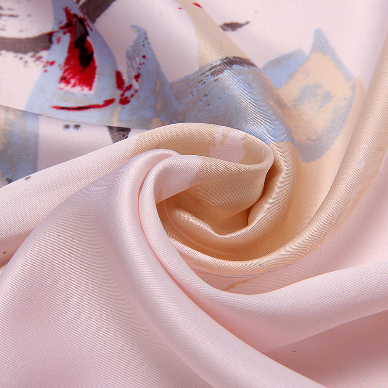 Marte & Joven modni mini kvadratni rajon cvjetni vratni šal za žene - Pribor za odjeću - Foto 6
