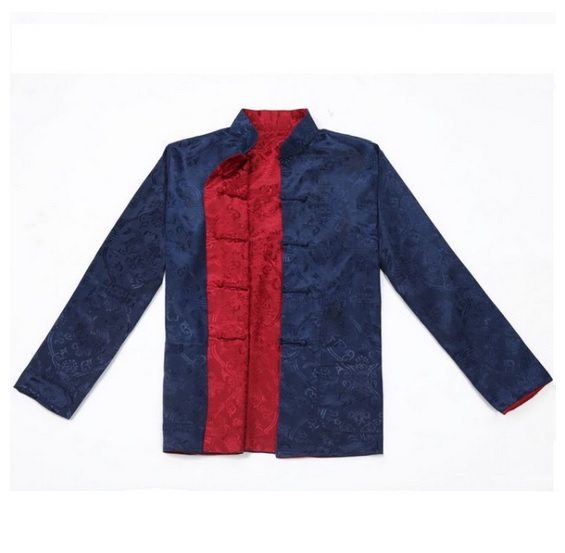 Attent Traditionele Chinese Kleding Shirts Traditionele Chinese Mannelijke Kleding Traditionele Chinese Kleding Mannen Oosterse Heren Kleding Minder Duur