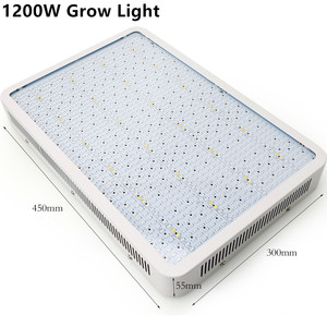 Image 3 - Full Spectrum 1600W LED Grow Light Red/Blue/White/Warm/UV/IR AC85~265V SMD5730 Plant Lamp For Indoor Plant Growing and Flowering