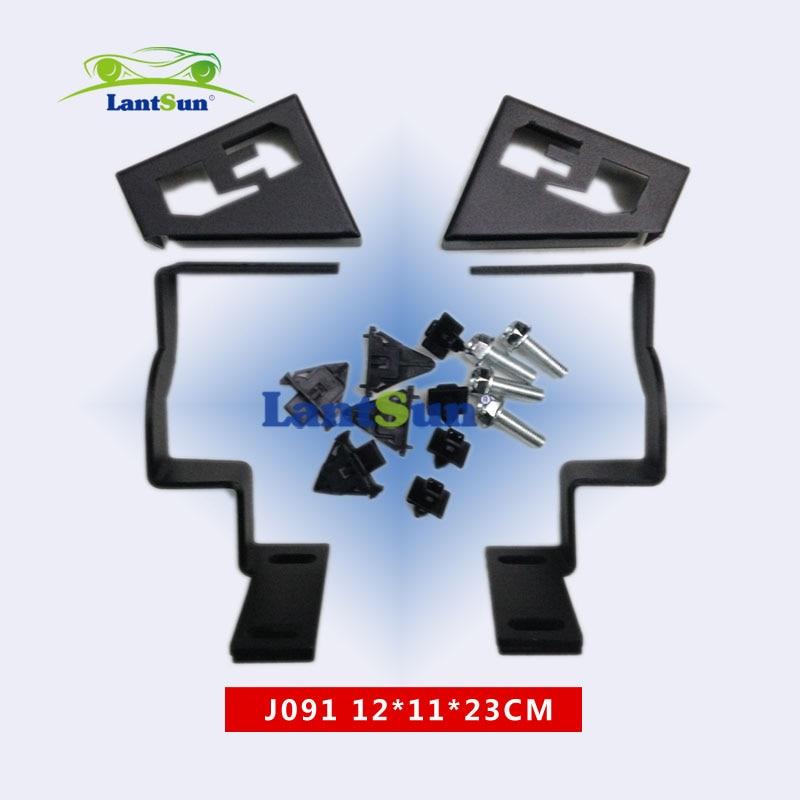One pair steel corner light mount brackets for Fj cruiser <font><b>2007</b></font>+ Front cowl mount brackets
