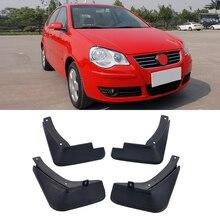 4 шт./компл. VW автомобиль брызговики брызговик крыло брызговиков для Защитные чехлы для сидений, сшитые специально для Volkswagen POLO 4 Характеристическая вязкость полимера 2003-2010