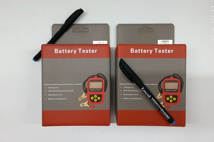 Prix pour Lancol Deux Unités MICRO-100 12 V testeur de charge de batterie De Voiture/Auto analyseur de batterie Deux Unités/Batterie vie testeur