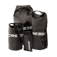 CRESSI DRY BAGS FOR BOATING AND WATER SPORTS 100% waterproof