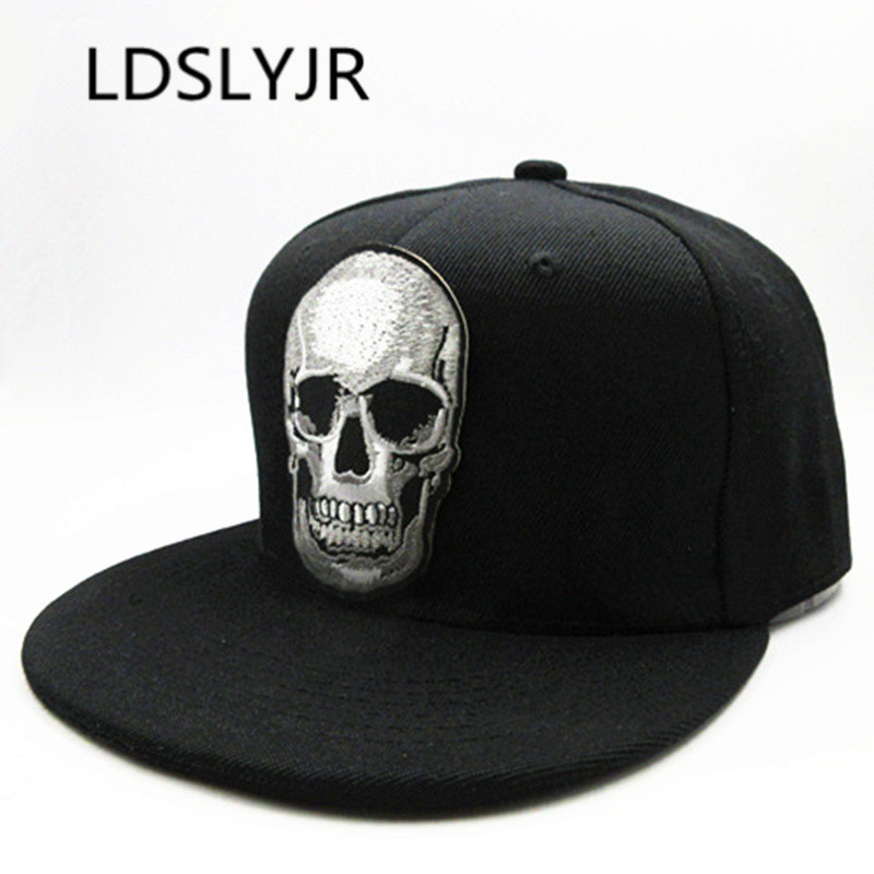 LDSLYJR Cartoon Datou Embroidery Cotton Baseball Cap Hip-hop Cap Adjustable Snapback Hats For Men And Women 17