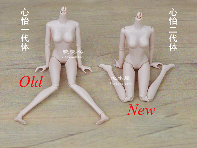 Super Cool Doll Body / with 14 joint moveable /for barbie toy White Skin XINYI doll Accessories / Baby toys for girls Xmas