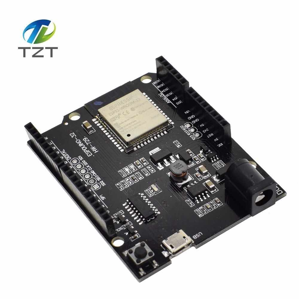 TZT For Wemos D1 ESP32 WiFi Bluetooth 4MB Flash UNO D1 R32