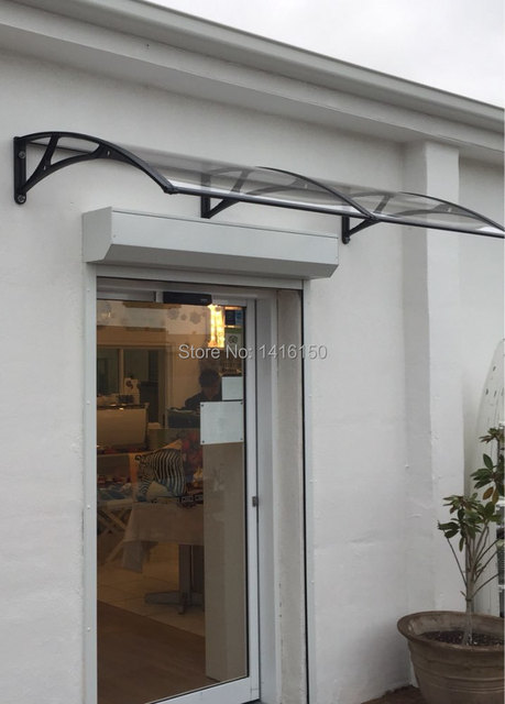 DS100200 A,100x200cm,home Use Entrance Aluminum Door Awning, Polycarbonate  Sheets Cover