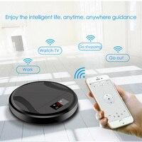 Интеллектуальный USB робот пылесос дома Беспроводной пылесос развертки пол робот с высокой мощностью всасывания супер тихий Дизайн