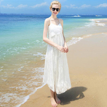 Women 100 Silk dress Beach 100% Natural Elegant White V-neck Holiday summer dresses Rose Free Shipping HOT Sell