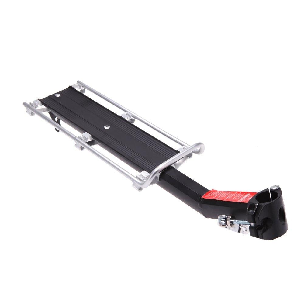 Gutes geschäft Anself MTB Fahrradträger Fahrrad Rack Sedile posteriore Regal lega di alluminio rimozione rapida e installazione
