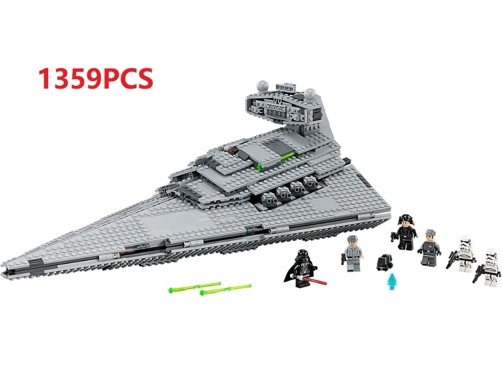 Lepin Star war 1359pcs Building Blocks toys for Children Gift Imperial Star Destroyers Bricks Compatible Legoes Star war 75055