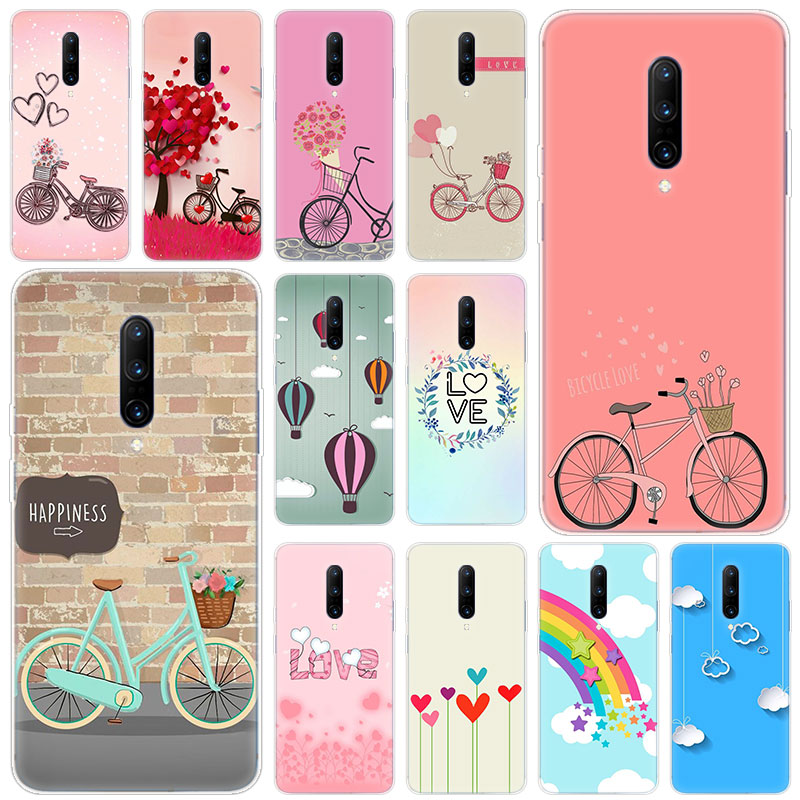 Hot Cycling lovers Soft Silicone Fashion Transparent Case For font b OnePlus b font font b