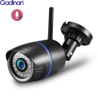 GADINAN MINI 1920*1080P WIFI IP Camera Audio Microphone Waterproof Network Nignt Vision Outdoor Wireless SD Card Slot Up to 64G