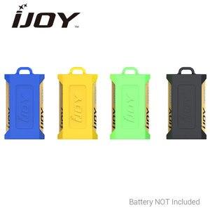 Оригинальный 2 шт IJOY силиконовый чехол для двух батарей 20700/21700 Высокое качество силиконовой резины электронные сигареты батарея Чехол