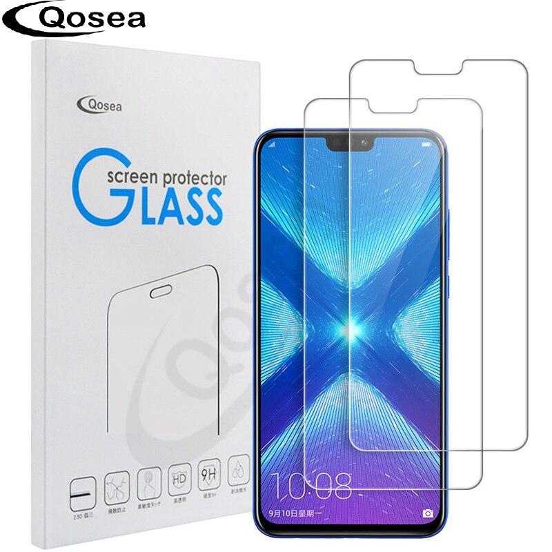 (2 PACK) protecteur D'écran En Verre trempé Pour Huawei Honor 8X 9 H Ultra Clear Pour Huawei Compagnon 20X20 P30 Pro lite De Protection Film