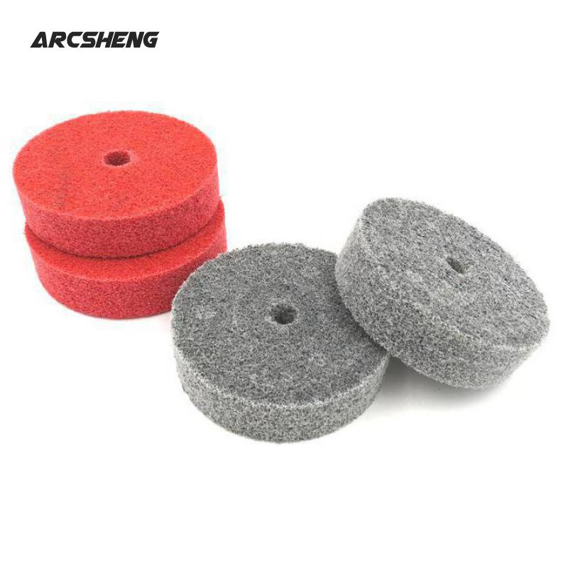 "Fiber Polishing Buffing Buffer Pad Nylon Abrasive Wheel 6/""//8/""//10/""//12/"" inch Disc"