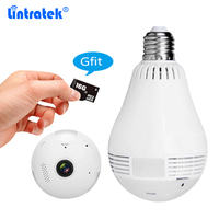 Howell 960P Wireless IP Camera 360 Degree Panoramic Light Bulb 1 3MP Security Camera Support Phone