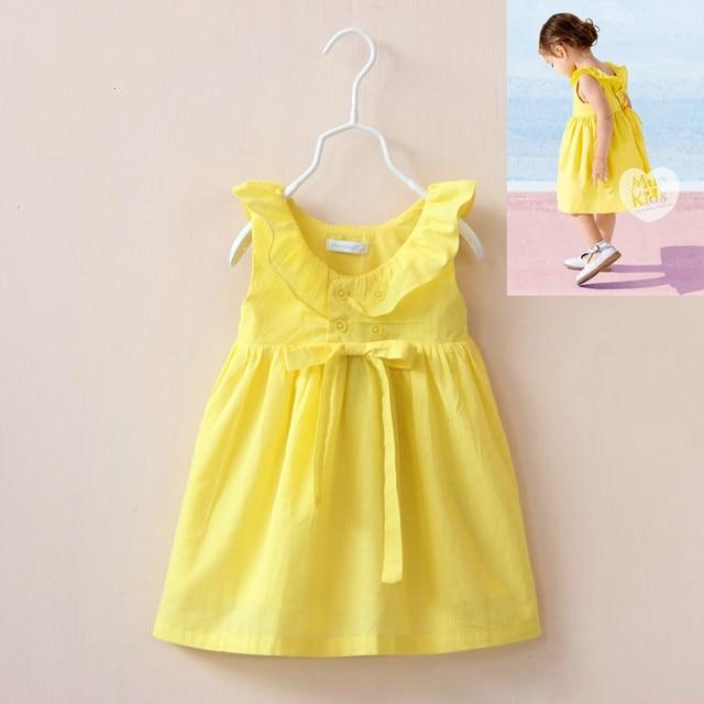 Girl Dress Summer 2016 New Brand Baby Girls Dress Kids Clothes Children Dress Princess Party Dresses for Girls vestido infantil
