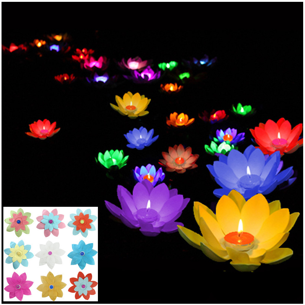 Online Buy Wholesale Floating Lotus Lanterns From China